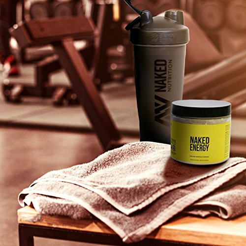 Naked Energy – All Natural Pre Workout Powder for Men and Women, Vegan Friendly, Unflavored, No Added Sweeteners, Colors or Flavors – 50 Servings