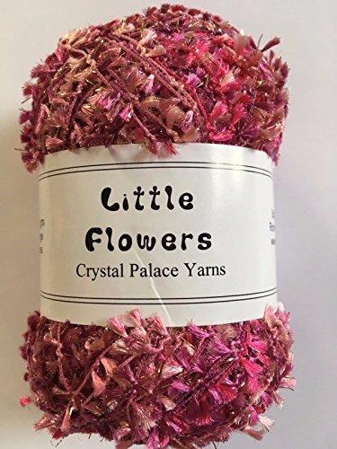 Crystal Nylon Yarn (Crystal Palace Yarns Little Flowers #8125 Peony Pinks)
