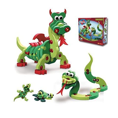 Bloco Toys - Dragons and Reptiles - Bloco Lizards