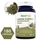Best Green Coffee Bean Extract 800mg 180caps