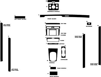 Rdash Carbon Fiber Dash Kit for Audi A4 S4 2000-2001