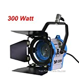 Top-fotos Pro Film 300W Lighting Fresnel Tungsten Spot light Video Studio camera