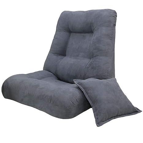 Amazon.com: ALXLX Silla de piso ajustable con respaldo y ...