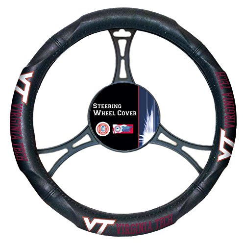 Officially Licensed NCAA Virginia Tech Hokies Steering Wheel Cover