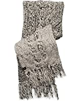 UGG Australia Womens Grand Meadow Novelty Cable Fringe Scarf