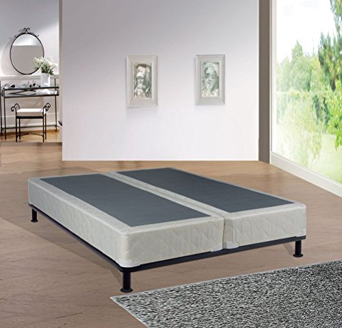 Continental Mattress, 8-inch Fully Assembled Split Box Spring/Foundations For Mattress, Queen Size ()
