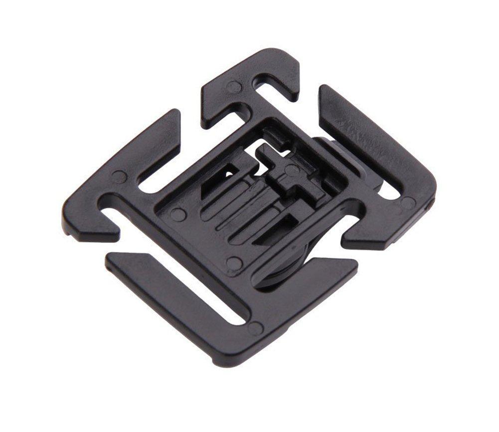 Cincha aogolouk 3pcs rotaci/ón de 360/grados soporte de clip de tubo tubo para mochila de hidrataci/ón pajita