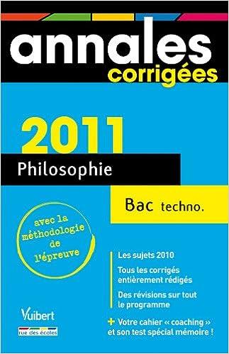 En ligne téléchargement Philosophie Bac technologiques pdf, epub