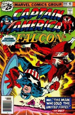 Amazon.com: Capitán América (y el grupo de Falcon) # 199 ...