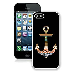 Aztec Anchor Iphone 5 5s Case White Cover
