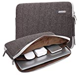 KAYOND Herringbone Woollen Water-resistant for 13-13.3 Inch Laptop Sleeve Case Bag (13-13.3 Inches, Gray)