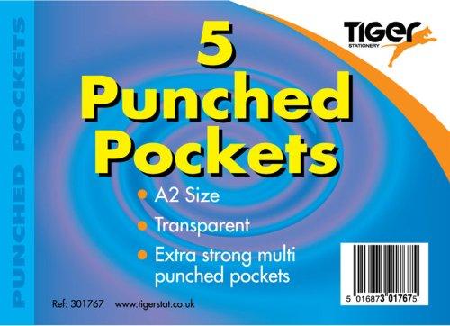 Amazon.com: Tiger 5 x perforadas (plástico, formato vertical ...