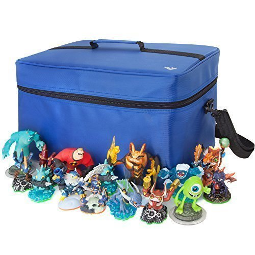 Price comparison product image Extra Large Storage and Carrying Case For Skylanders / Disney Infinity / Nintendo Amiibo Figures - (PS4/PS3/Xbox One/Xbox 360/Nintendo 3DS/Wii U)