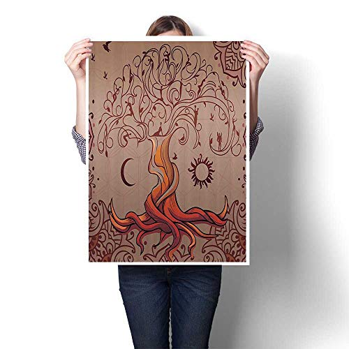 Canvas Wall Art Tage Tree of Life with