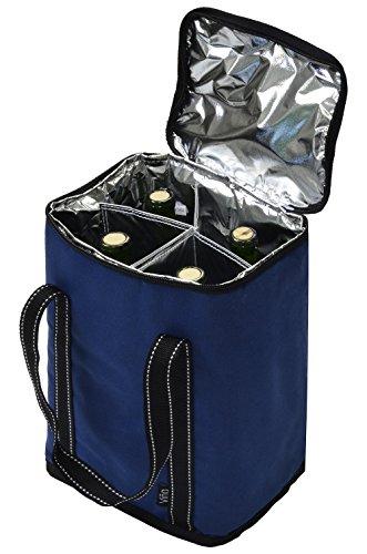 4 bottle cooler bag - 8