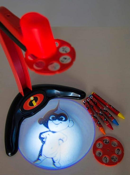 Sambro Proyector pequeño Los Increibles, Color Rojo (DIN-4516 ...