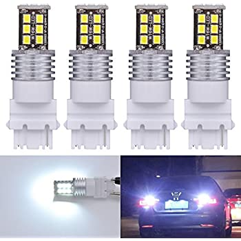 KaTur 2pcs High Power 800 Lumens Super Bright T15 W16W 921 915 LED Canbus Error Free 15SMD 2835 Backup Reverse Tail Brake Lights Parking LED Blubs DC 12V Red