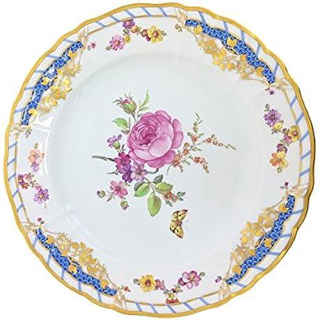KPM Rocaille Dessert Plate Large