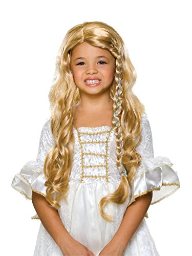 Rubie's 51409 Glamorous Princess Child's Wig, Blonde, Multicolor ()
