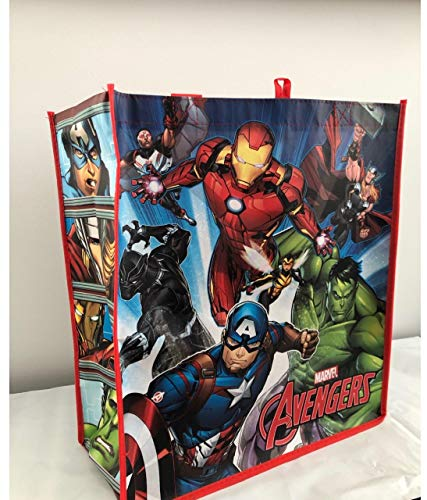 Marvel The Avengers Group Cartoon Red/Blue Multi Color