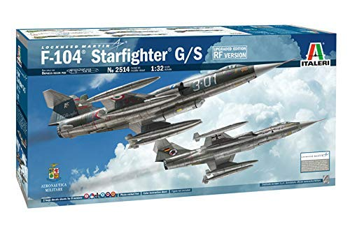 Used, Italeri 2514 Lockheed Martin F-104 Starfighter G/S for sale  Delivered anywhere in USA