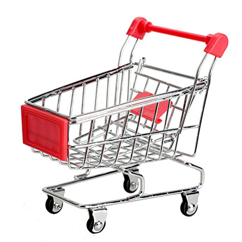 Toy Cat - Cute Child Storage Box Supermarket Handcart Shopping Utility Cart Mode Toy Red Container - Keychain Backhoe Organic Remote Rings Eyes Battery Skidsteer Trucks Lifelike