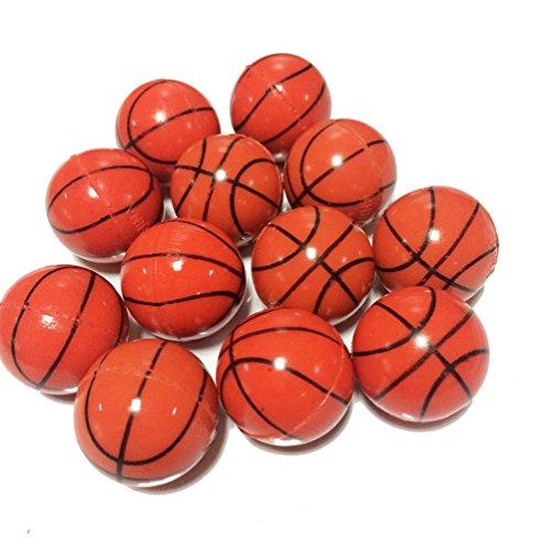 Yunko 12 Bouncy Balls Basketball High Bouncing Balls (1.18 inch) Best Bouncy Ball