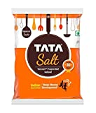 Tata Salt, 1 kg - (1000 grams pack) - 35.27 oz - India - Vacuum evaporated iodised salt - Vegetarian