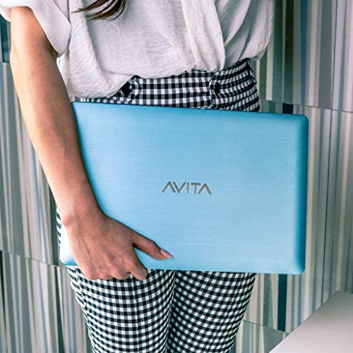 "AVITA 14"" Pura [CN6Q14] AMD A9 8GB RAM 128GB SSD IPS 1920 x 1080 HD Screen Windows 10 Laptop for Online Class (Crystal Blue)"