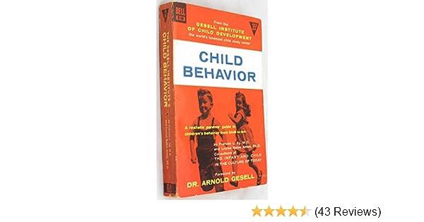 Child Behavior Gesell Institute Of Child Development