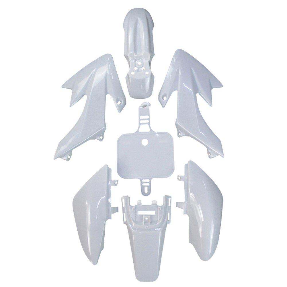 Stoneder carenatura bianca CRF50 XR50 kit in plastica