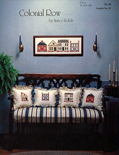 Row Needlepoint (Colonial Row Needlepoint Pattern 4 Houses Leaflet No. 2)