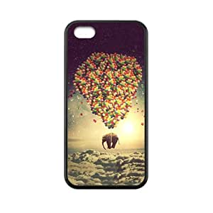 Lmf DIY phone caseCase for iphone 5c Animal Elephant with colorful balloons Personalized Custom Durable ProtectorLmf DIY phone case