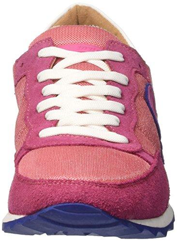 Collo Basso Unisex Rosso invicta Corallo Adulto Classica Sneaker a WgF1RStc