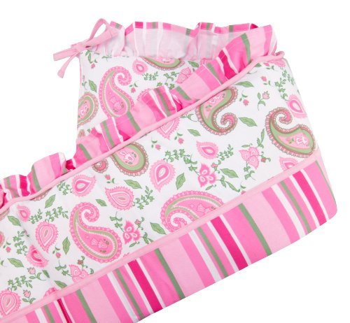 Trend Lab Crib Bumpers, Paisley Park Color: Pink NewBorn, Kid, Child, Childern, Infant, Baby