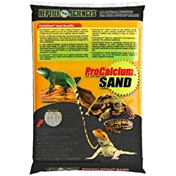 Reptile Sciences Terrarium Sand, 10-Pound, Black