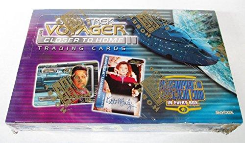 Star Trek Voyager Closer to Home Trading Card Box Set - 36 Packs by Star Trek