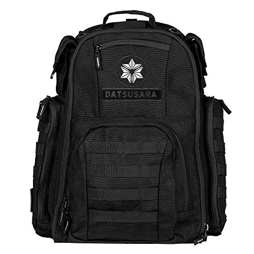 Datsusara Battlepack Core, Hemp and Antimicrobial Sports/Crossfit Backpack, includes a wet/soil bag