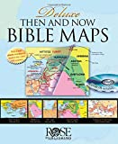 Deluxe Then and Now Bible Map Book With CD Rom