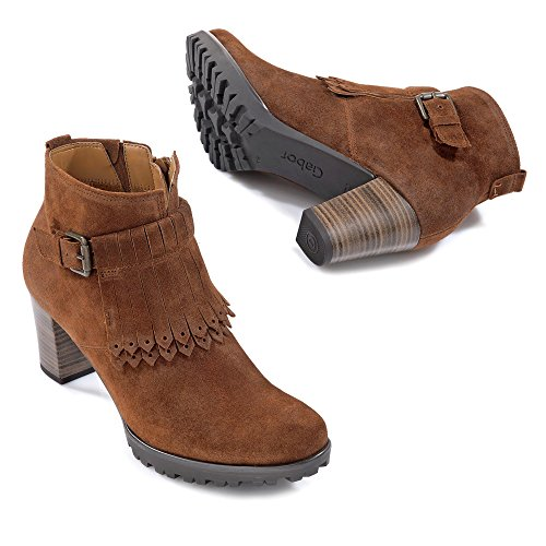 Gabor Women's Shoes 52.863.35 Women's Lace-Up Boots tabacco (Micro) UsBs0w