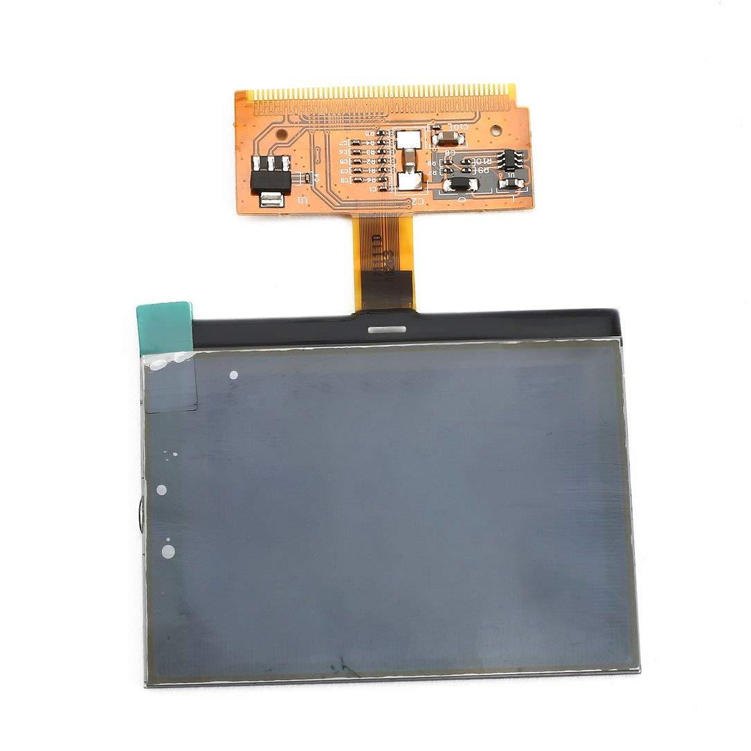 Oupeng Schermo di visualizzazione LCD Cluster per Auto VDO in Vetro per Audi A3 A4 Nero e Marrone A6 Automobile