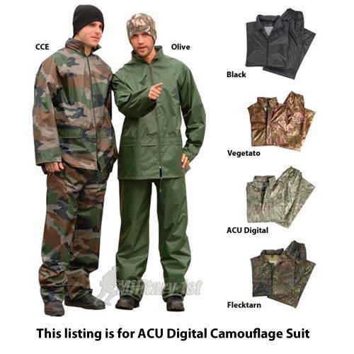 Mil-Tec Waterproof Suit ACU Digital size L