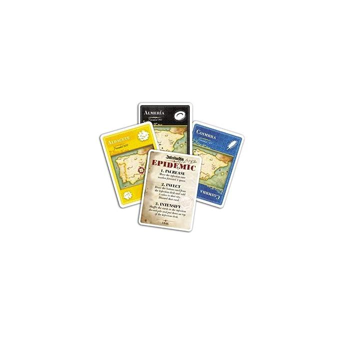 Amazon.com: Pandemia: Juego de tablero iberia: Toys & Games