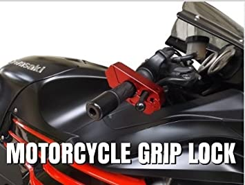 1 Motorcycle Lock A Grip Throttle Brake