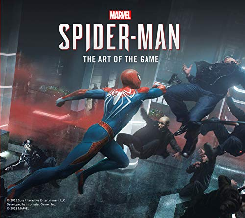 Marvel's Spider-Man: The Art of the Game]()