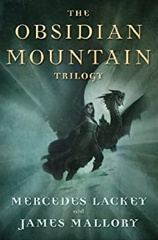The Obsidian Mountain Trilogy: The Outstretched Shadow, To Light a Candle, and When Darkness Falls by [Lackey, Mercedes, Mallory, James]