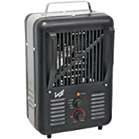 Comfort Zone CZ792BK Deluxe Milkhouse Electric Utility Heater, Black