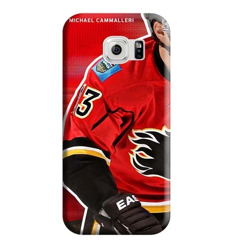 fan products of Samsung Galaxy S7 Edge case cover Bumper Hot Style phone carrying cases Calgary Flames