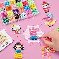 NGX MentorKids Plastic Fuse Bead Kit Creative Magic Water Spray Craft DIY Beads for Kids