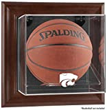 Kansas State Wildcats Framed Wall Mountable Basketball Display Case